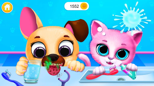 Download Kiki & Fifi Pet Friends - Virtual Cat & Dog Care 5.0.30023 2