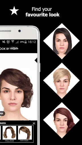 Style My Hair: Discover Your Next Look modavailable screenshots 12