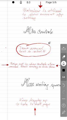 INKredible - Handwriting Note 2.5.1 Screenshots 1