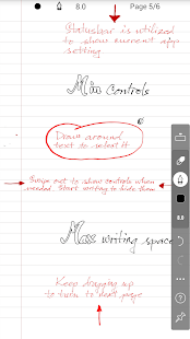 INKredible - Handwriting Note screenshots 1