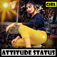 Attitude Status for Girls 2021 - Attitude Quotes