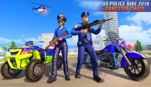 US Police Bike 2020 - Gangster Chase Simulator 3.0 Screenshots 15