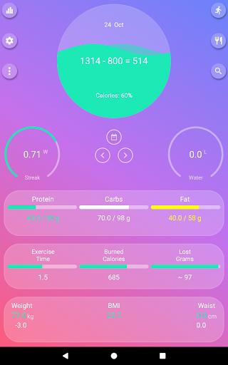 Calorie Counter - EasyFit free  Screenshots 11