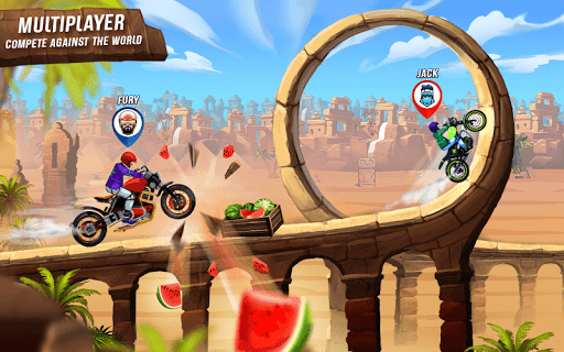 Rush To Crush New Bike Games: Bike Race Free Games Latest screenshots 1