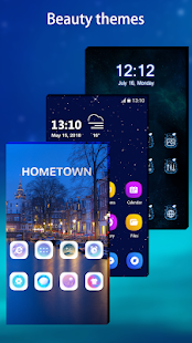 Cool Note10 Launcher for Galaxy Note,S,A -Theme UI Screenshot