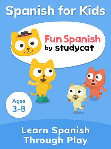 Studycat: Fun Spanish for Kids apktram screenshots 17
