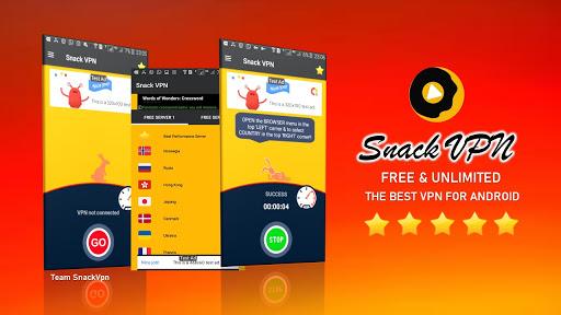 Snack VPN - Free VPN Proxy Server & Secure Service Apk Team SnackVpn screenshots 1