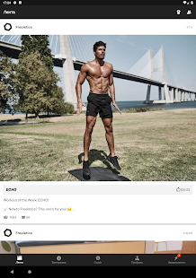 Freeletics Training Coach  Bodyweight amp Mindset Screenshot