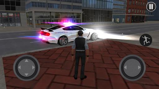 Mustang Police Car Driving Game 2021 1 screenshots 6