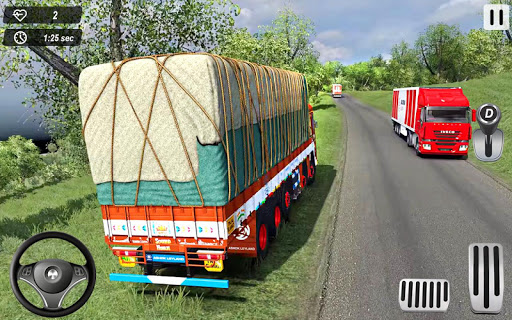Indian Truck Offroad Cargo Drive Simulator 2  Screenshots 8