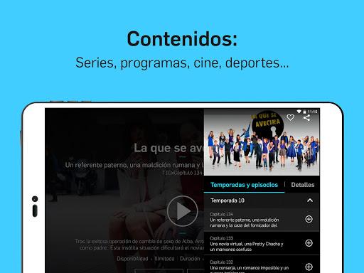Mitele - Mediaset Spain VOD TV apktram screenshots 8