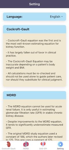 eGFR Calculators Pro: Renal or Kidney Function  screenshots 4