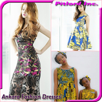 アンカラのファッションドレス