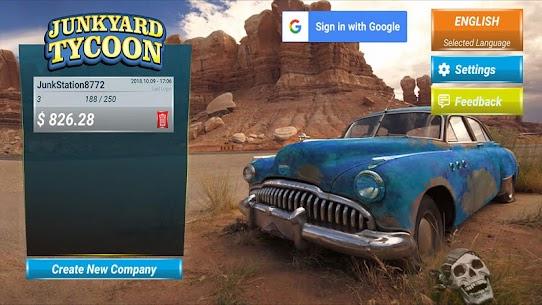 Junkyard Tycoon – Car Business Simulation Game Apk Download 2021 1