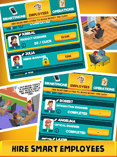 Smartphone Tycoon - Idle Phone Clicker & Tap Games 2.0 screenshots 2