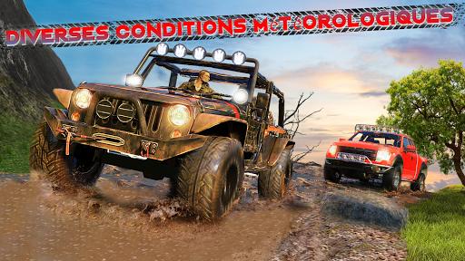 Code Triche Offroad Jeep Driving & Racing cascades apk mod screenshots 4