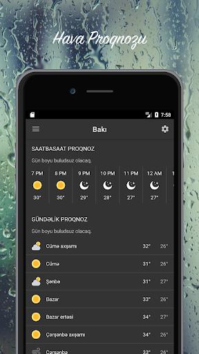 Hava Proqnozu - Azu0259rbaycan  screenshots 4