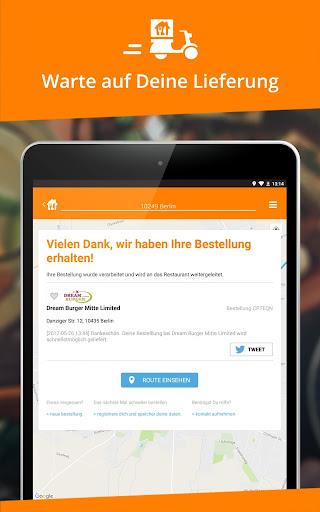 Lieferservice.de  screenshots 9