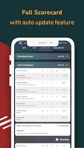 Live Line & Cricket Scores - Cricket Exchange  Screenshots 7