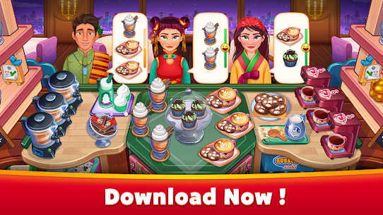 Asian Cooking Star MOD (Unlimited Gems/Coins) 5