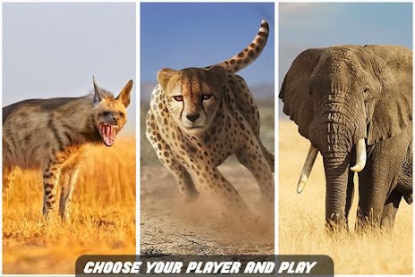 Savanna Simulator: Wild Animal Games 0.1 screenshots 1