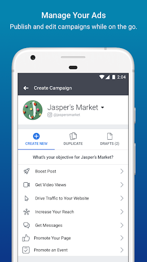 Facebook Ads Manager 206.0.0.31.118 Screenshots 1