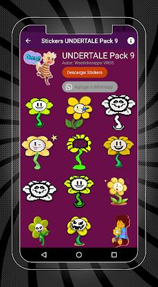 Stickers de UNDERTALE y DELTARUNE para WhatsAppのおすすめ画像1