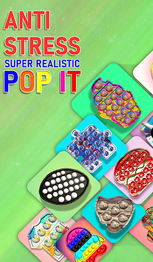 Pop it fidget toy 2! DIY calming asmr popers game 1.0.4 screenshots 17