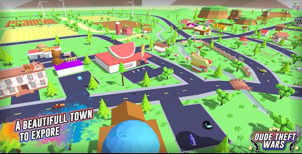 Dude Theft Wars Mod APK (Free Shopping) 5