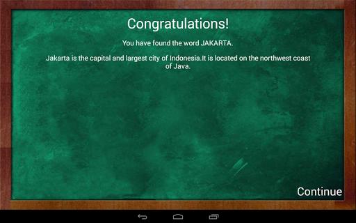 Educational Hangman in English 2.67 screenshots 9