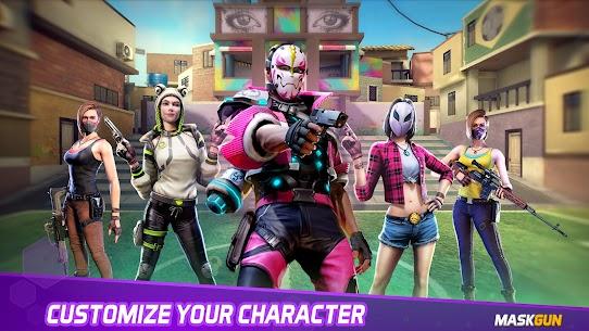MaskGun Online multiplayer FPS shooting gun game Apk Lastest Version 2021** 16