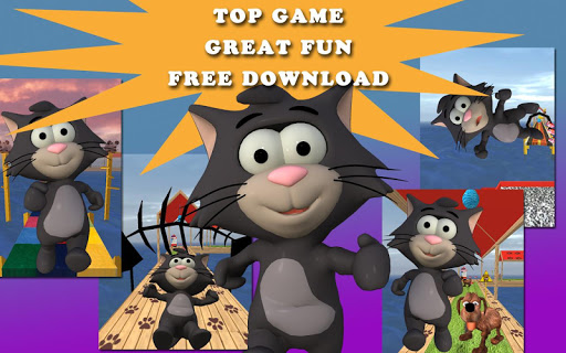 Tiny Cat Run: Running Game Fun apkmr screenshots 13