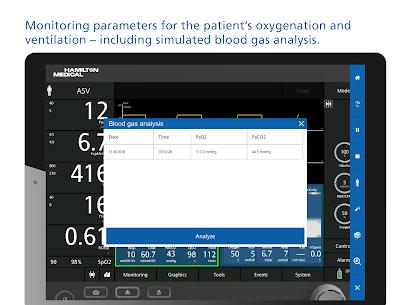HAMILTON-C6 ventilator and patient simulation Apk Download 2021 5