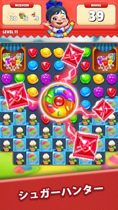 シュガーハンター:マッチ3パズルのおすすめ画像3