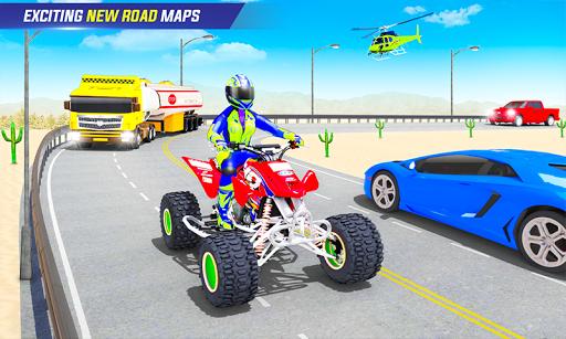 Light ATV Quad Bike Racing, Traffic Racing Games 18 Screenshots 6