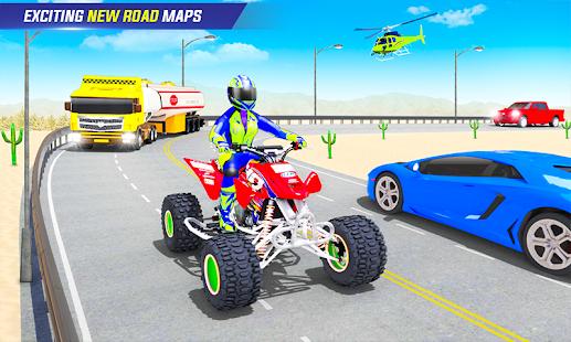 Light ATV Quad Bike Racing, Traffic Racing Games 19 Screenshots 6