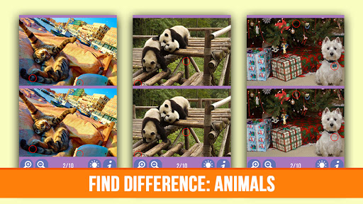 Find difference: Animals screenshots 7