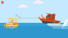 恐竜パトロールボート - 子供のための沿岸警備隊ゲームのおすすめ画像1
