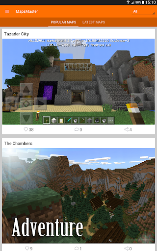 Maps for Minecraft PE screenshots 1