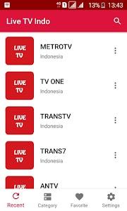 Live TV Indonesia - Semua Saluran TV Indonesia 4.0.0