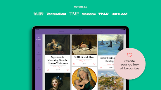 DailyArt - Your Daily Dose of Art History Stories Screenshot