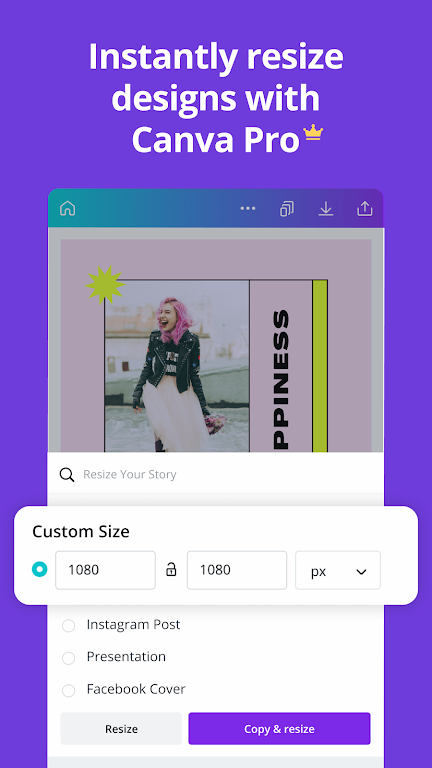 Canva: Graphic Design, Video Collage, Logo Maker poster 7