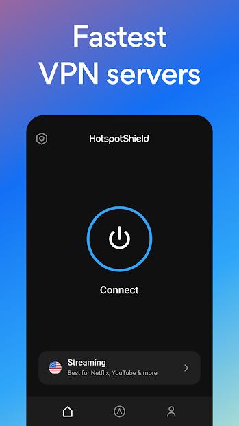 Hotspot Shield Free VPN Proxy & Secure VPN screenshot 1