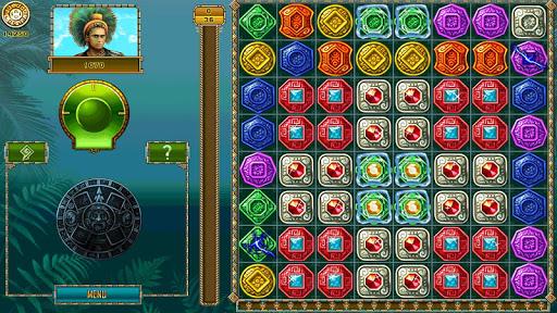 Treasure of Montezuma - 3 in a row games free  screenshots 9