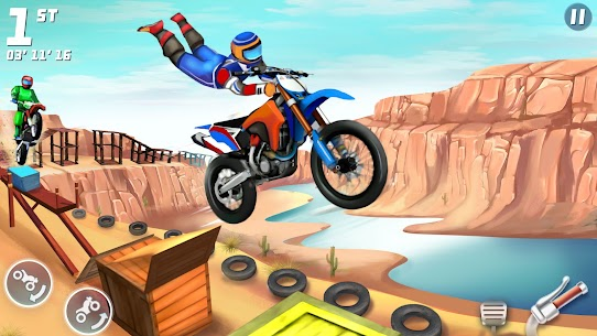 Bike Racing Multiplayer Games: Bike Stunt Games 3