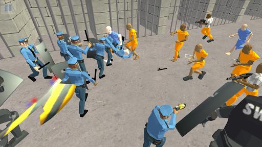 Battle Simulator: Prison & Police apktram screenshots 13