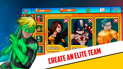 Superheroes League - Free fighting games 2.1 screenshots 13