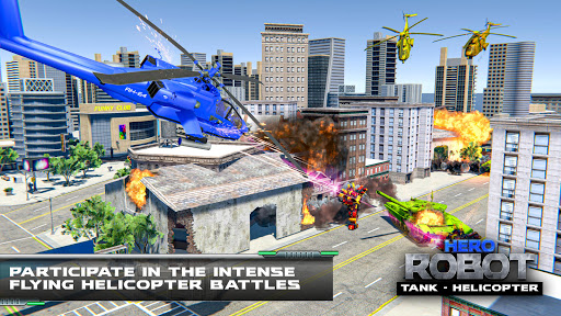 Tank Robot Transform Wars - Multi Robot Game  screenshots 22