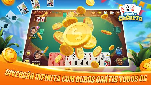 Cacheta ZingPlay: Jogo de cartas online gru00e1tis 1.1 screenshots 5