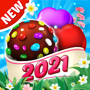 Candy House Fever - 2021 free match game